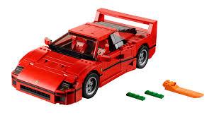 nissan lego lego ferrari f40 is a pile of bricks