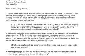 resume 5 way to writing the best cover letter example for resume