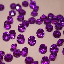 gems for table decorations 5packs lot 10000pcs pack deep purple 4 5 mm wedding table