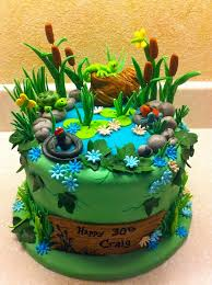 best 25 pond cake ideas on pinterest duck cake fondant fish
