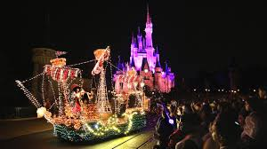 main street electrical parade ends run at walt disney world on