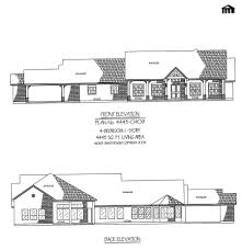 Single Story House Floor Plans by 4 Bedroom 1 Story House Plans