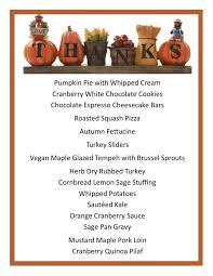 thanksgiving thanksgivingc2a0dinner menu ideas for thanksgiving