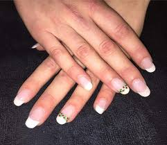 37 far out french manicure designs that spell u0027oomph u0027