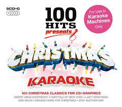 100 hits presents christmas karaoke amazon co uk music