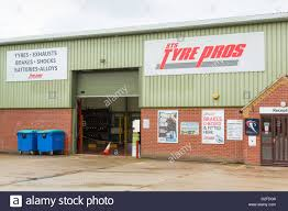 sts tyre pros tyre and exhaust fitting garage workshop stock