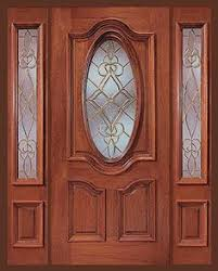 Cheap Exterior Door 36 X80 Therma Tru Fcm912 Fiberglass Exterior Door With Sidelights