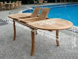 Extendable Oval Dining Table Extendable Outdoor Dining Table U2013 Rhawker Design