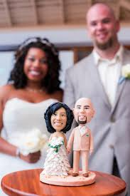 custom wedding cake topper and groom cake topper