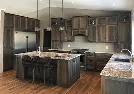 hickory grey stained kitchen cabinets kitchen hickory grey stain rodina cabinets