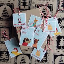 free printable gift tags christmas dogs free printables
