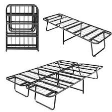 Support Bed Frame Folding Size Metal Bed Frame Foldable Center Support