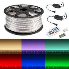 164ft rgb led light kit waterproof led