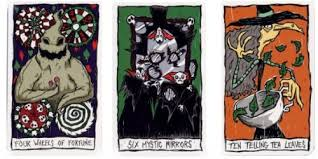 nightmare before haunted mansion tarot