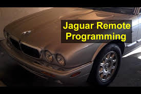 jaguar key remote control programming and battery replacement xj8