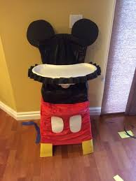 mickey mouse chair covers best 25 mickey mouse high chair ideas on mickey mouse