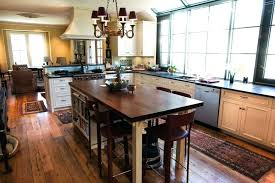 mission style kitchen island custom kitchen island table design your own custom made kitchen