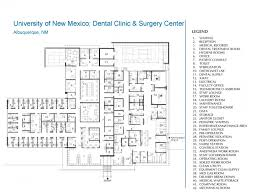 Health Center Floor Plan University Of New Mexico Dental Clinic And Surgery Center The