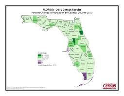 Map Florida Counties by Census 2010 News U S Census Bureau Delivers Florida U0027s 2010
