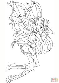 flora believix coloring free printable coloring pages