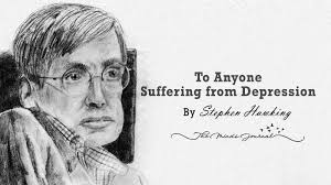 stephen hawking has a beautiful message for anyone suffering from