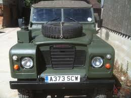 Series 3 Ex Military 109 Ffr Landrover Land Rover Very Straight