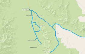 Map Of Death Valley Death Valley U2013 Hottest Driest Lowest U2013 Reisewuetig Com