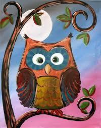 25 unique owl canvas paintings ideas on pinterest owl canvas