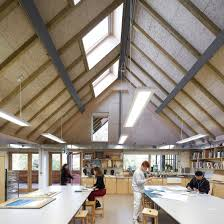 hampshire architecture and design dezeen feilden clegg bradley creates barn inspired art building at bedales school in hampshire