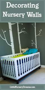 Decorating Nursery Walls Decorating Nursery Walls Nursery Dreams