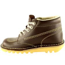 womens work boots uk womens kickers kick hi leather office work ankle boots