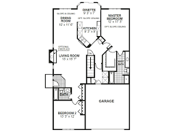 Side Garage Floor Plans by The Briarwood Phillippe Builders
