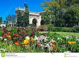 Balboa Park Botanical Gardens by Balboa Park With Flowers Stock Images Image 29801954