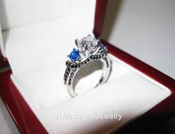 blue and white engagement rings wedding rings sapphire engagement rings meaning vintage sapphire