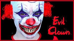 killer clown makeup halloween evil clown makeup tutorial silvia quiros youtube