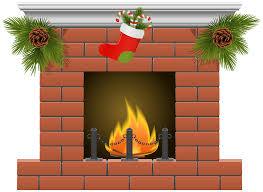 christmas stockings fireplace clipart clip art library