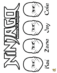 ninjago zane coloriages  citydirectoryworldinfo