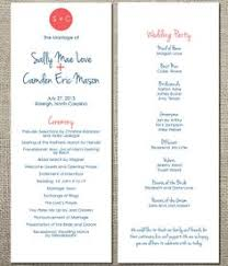 flat wedding programs image result for http www documentsanddesigns images