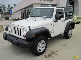 white jeep 4 door 2010 stone white jeep wrangler sport 4x4 27771290 gtcarlot com