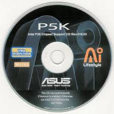 asus p5k and p5kc motherboard drivers installation disk m1194
