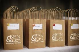 hotel gift bags for wedding guests wedding guest gifts ideas search wedding