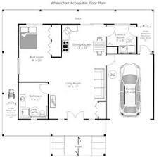 Nursing Home Layout Design Plano Loft De Un Piso 36m2 9m2 Terraza Planos Pinterest
