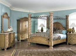 Antique Bedroom Furniture by Master Shop For A Southampton 6 Pc Canopy King Bedroom At Rooms