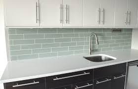 White Glass Subway Tile Kitchen Backsplash Of  Idolza - Ikea kitchen backsplash