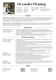 Resume Sample Volunteer Position by Resume Of Pharmacy Student Resume For Your Job Application