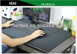 Office Desk Pad Eco Rubber Printed Office Desk Pad Decorative Large Size Desk Pads