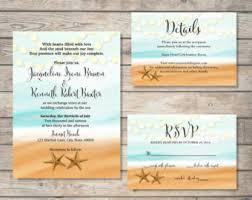 Beach Theme Wedding Invitations Beach Wedding Invites Reduxsquad Com