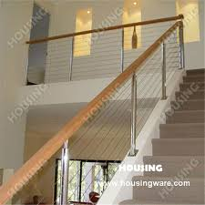 Stair Banisters And Railings Wire Stair Railing Wire Stair Railing Suppliers And Manufacturers