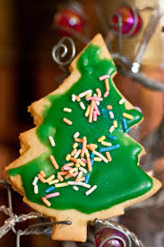 file a taste of things to come christmas tree sugar cookie with