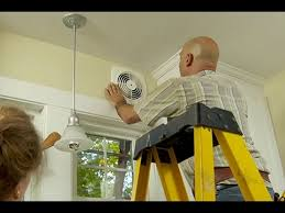 bathroom wall exhaust fan how to install a through the wall exhaust fan youtube